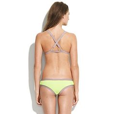 teeny neon bikini