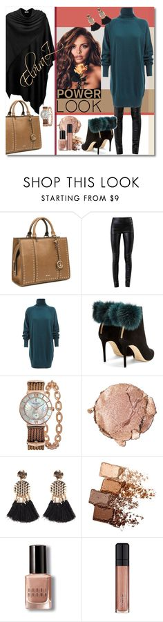 """GIRL POWER: Power Look"" by elza76 ❤ liked on Polyvore featuring Nine West, Helmut Lang, WtR, Jimmy Choo, Charriol, Stila, Maybelline, Bobbi Brown Cosmetics, L'Oréal Paris and girlpower"