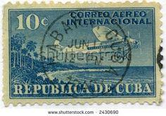 old cuba postage stamps | Vintage Cuba Postage Stamp World Ephemera Stock Photo 2430690 ...