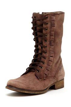 Betsey Johnson Litza Lace-Up Combat Boot (Jen Williams seriously wants these boots!)  :-)