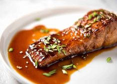 Honey Salmon Recipe No Soy Sauce.Grilled Salmon With Honey Soy Marinade Recipe . Honey Garlic Butter Salmon In Foil Recipe Cafe Delites. Honey Salmon, Garlic Salmon, Glazed Salmon, Salmon Recipes, Fish Recipes, Recipies, Seafood Recipes, Honey Garlic Sauce, Recipetin Eats