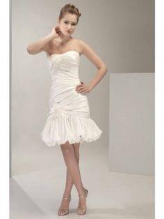 informelle kurze Brautkleider Cocktail Länge