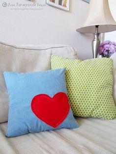 DIY Heart Pillow
