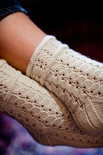 Try these wonderfully detailed Rubus suberectus Socks by Hunter Hammersen in http://www.elann.com/Commerce.Web/product.aspx?refsource=PIN&catID=30&id=129335&tid=7 A-Series F03 yarn.