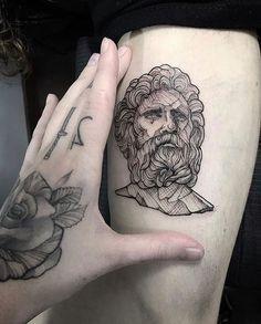 36 Ideas For Line Art Tattoo Family B Tattoo, Thigh Tattoo Men, Medusa Tattoo, Tattoo Blog, Piercing Tattoo, Forearm Tattoos, Sleeve Tattoos, Piercings, Line Art Tattoos