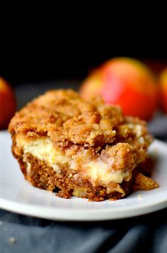 Cream Cheese Apple Coffee Cake...
