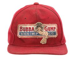 Original Tom Hanks - Forrest Gump Bubba Gump Shrimp Co. Hat... Awesome movie... Awesome hat