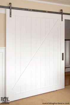 Barn doors on pinterest barn doors sliding barn doors for Ikea sliding barn doors