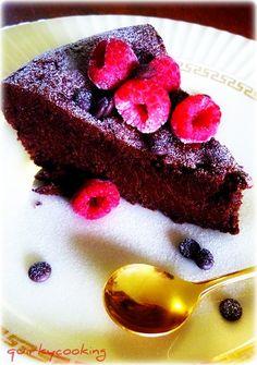 Flourless Chocolate Espresso Cake