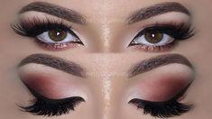 ⭐ Herbst-inspiriertes Make-up-Tutorial mit der Huda Beauty Rose Gold Palette Huda Beauty Rose Gold Palette, Huda Beauty Eyeshadow, Rose Gold Makeup, Huda Palette, Makeup Palette, Best Mac Lipstick, Best Mac Makeup, Mac Lipsticks, Kiss Makeup