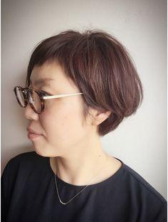 クブヘアー(kubu hair) 《kubu hair》ショートバングアシメ