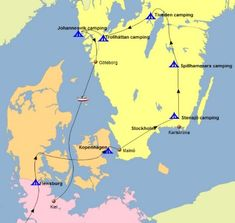 Rondreis door Zuid-Zweden