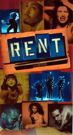 RENT (1996), Original Broadway Cast with Anthony Rapp, Adam Pascal, Daphne Rubin-Vega, Jesse L. Martin, Wilson Jermaine Heredia, Idina Menzel, Fredi Walker & Taye Diggs