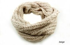 Super Soft Knitted Infinity Scarves - 7 colors 60% off at Groopdealz