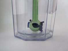 Green Fish Straw by ManyMinis on Etsy, $10.00
