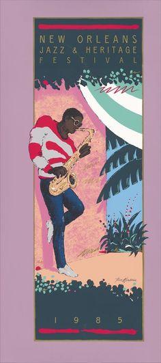 Jazz Fest Poster 1985