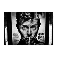 #davidbowie #parismatch #cover #rip #portrait #music #legend #rock #analog #35mm #canonae1 #ishootfilm #filmphotography #filmisnotdead #believeinfilm #argentique #canon #ilford #bw #blackandwhite #LaRochelle #press