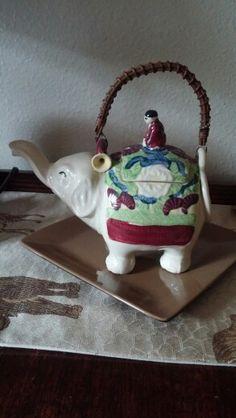 Elephant tea pot.
