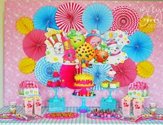 "Shopkins / Birthday ""Shopkins Party"" | Catch My Party"