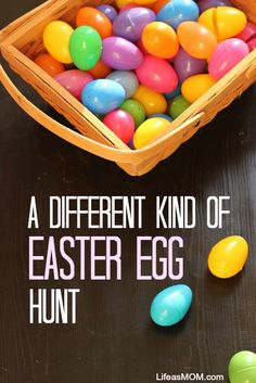 A Different Kind of Easter Egg Hunt | Life as MOM - Last year we switched up our style of Easter Egg Hunt. Instead of filling the eggs with candy, I filled them with tokens that the kids could redeem for prizes. This worked so well, we're doing it again.
