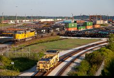 RailPictures.Net Photo: NS 7254 Norfolk Southern EMD SD9043MAC at Austell, Georgia by Brad Kindschy