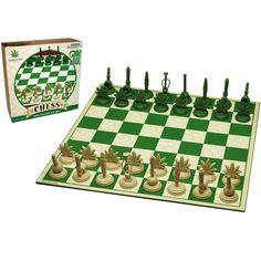 Marijuana Themed Chess Set - Stoner Gadgets