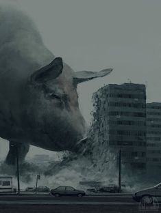 Surrealist concept art by Alex Andreev