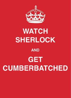 I'm ready to get Cumberbatched