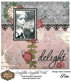 Scrapping Fancy: Swirlydoos Kit Club November Reveal and Blog Hop