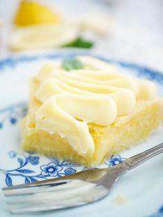 Citronkladdkaka – My Kitchen Stories Cheesecakes, Scones, Muffins, Dessert For Dinner, Different Recipes, Desert Recipes, Love Food, Great Recipes, Delicious Desserts