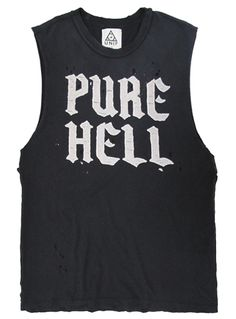 Pure Hell Vest Top #style