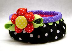 Download Button Basket Sewing Pattern   Featured Downloadable Sewing Patterns   YouCanMakeThis.com