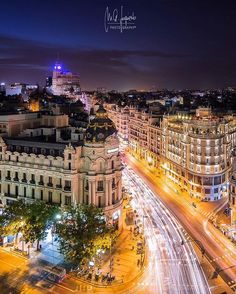 Lights of Gran Vía 🌇 ~ Madrid, Spain  Photo: @miguelon1987 Congrats! 😍  TAG #living_europe in your pics to share them with us 💙  #madrid #madridgram #igersmadrid #granvia #ig_madrid #places_wow #architecture #europe_gallery #postcardsfromtheworld  #europe_tourist #spain #españa #ig_spain #turismoespaña #spaingram #turismospain #vscospain #igersespaña #loves_spain #wu_europe #europe  #cityview #loves_landscape #ig_europe #europa #loves_europe #europe_vacations #cityscape #archilovers