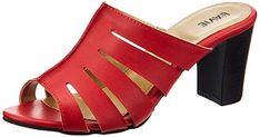 d24b51781c4 Lavie Women s test282 Red Fashion Sandals - 5 UK India (38 EU) (