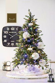 Alberello di Natale addobbato #brucostyle #italianstyle #christmastime