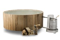 With the Dutchtub® you can explore and enjoy the essence of outdoor bathing. This award-winning hot tub is a pure luxury and works surprisingly simple: Wood fired and with natural circulation. With this smart construction and the sturdy, long-lasting material you can use the Dutchtub® anytime, anywhere...   Dutchtub® Wood