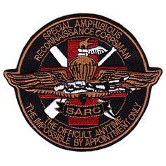 USMC FORCE RECON SEMPER FIDELIS patch