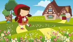 Games For Kids, Games To Play, Le Gui, Red Riding Hood Party, Little Red Ridding Hood, Online Games, Clipart, Books, Color Activities