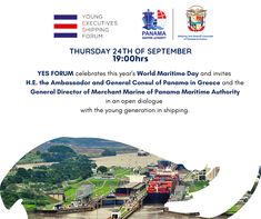 On Thursday 24th of September 2020, 19:00 hrs YES FORUM celebrates this year's World Maritime Merchant Marine, Thursday, September, Celebrities, Merchant Navy, Celebs, Famous People