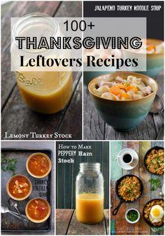 100 Thanksgiving Leftover Recipes - BoulderLocavore.com