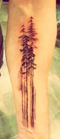Tree Forearm Tattoo by Megan at INK INK Springfield, MO