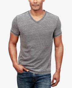 Lucky Brand Men's V-Neck T-Shirt - Bl