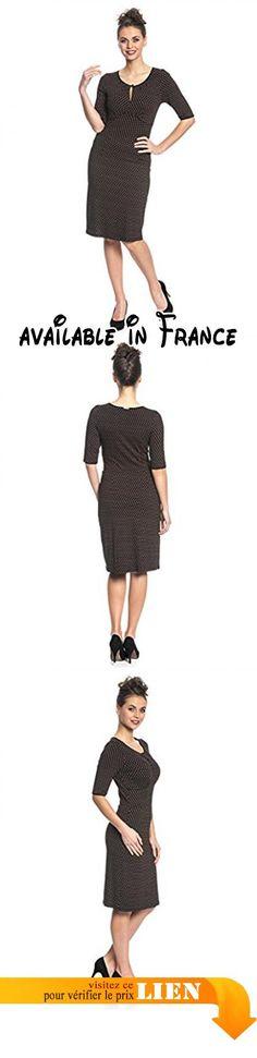 B06XPDP5FQ : Vive Maria Lili Dress Robe Femme Mehrfarbig (Black Allover) 44 (Taille Fabricant : XL). #Apparel #DRESS