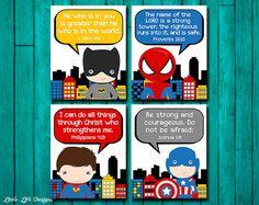 Superhero Wall Art. Superhero Boys Decor. Christian Superhero Art by LittleLifeDesigns