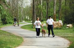 Knoxville has amazing greenways for biking, jogging, walking, and time with your pets.