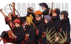 Anime Naruto  Kakuzu (Naruto) Sasori (Naruto) Deidara (Naruto) Hidan (Naruto) Pain (Naruto) Konan (Naruto) Kisame Hoshigaki Obito Uchiha Itachi Uchiha Zetsu (Naruto) Akatsuki (Naruto) Wallpaper