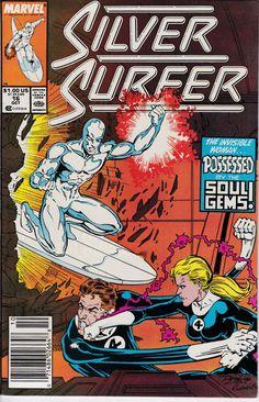 Silver Surfer 16 October 1988 Issue  Marvel Comics  Grade