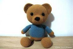 Urso Teddy   Amigurumi Brasil – AmiBR