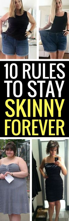 10 rules to stay skinny forever.