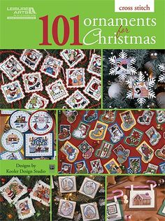 101 Ornaments for Christmas -- counted cross stitch -- $9.95 on Leisure Arts at http://www.leisurearts.com/products/101-ornaments-for-christmas.html